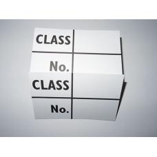 Class & No (CE)